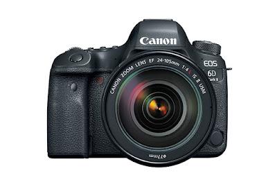 Canon EOS 6D Mark II DSLRフルドライバーをダウンロード