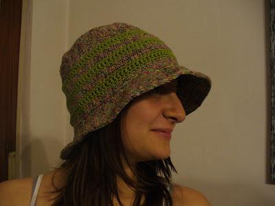 """Crochet hat """"Un cappello per l'estate"""""""