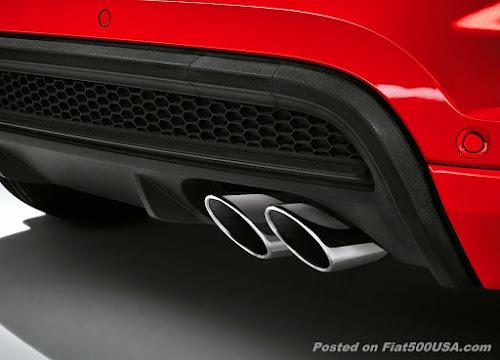 Fiat 500X Sport Tailpipes