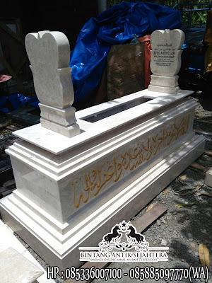 Harga Kijing Makam di Surabaya, Kijing Makam Sederhana, Model Makam Marmer