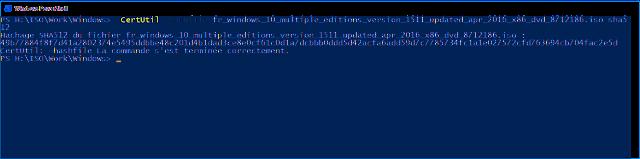Club Windows 10 - Articles, Trucs et astuces Windows 10 - Vérifier l'intégrité des téléchargements avec Windows 10