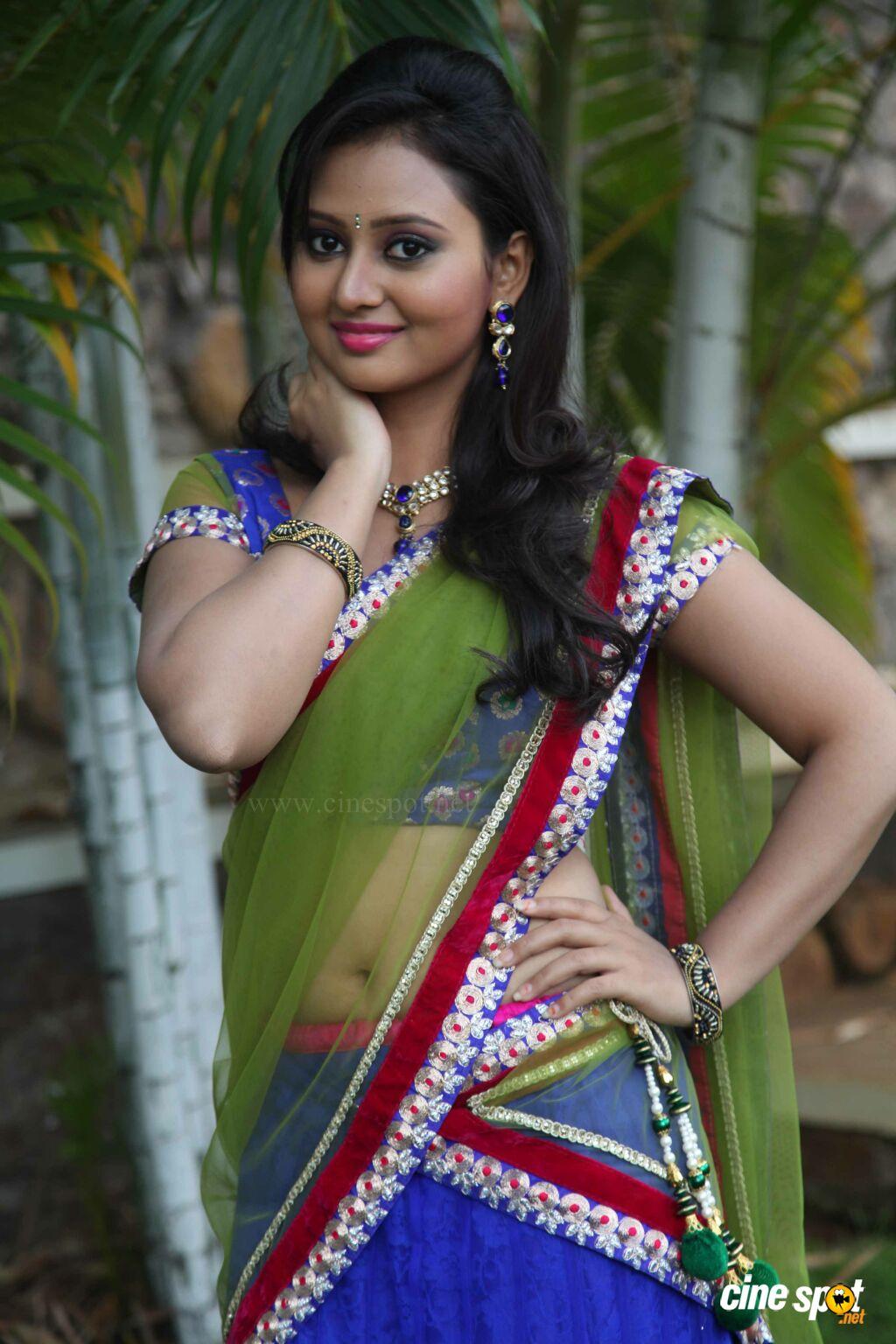 Photo Heroine Amulya Actress Photos In Krishna-Rukku -8395