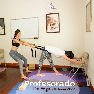 Formación Yoga 300 Hrs / Certificación 500 Hrs ॐ