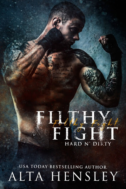 I'm no match for him when he fights dirty. Filthy Fight by @AltaHensley