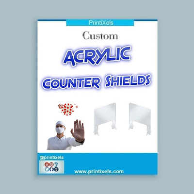 Custom Acrylic Counter Shields Philippines