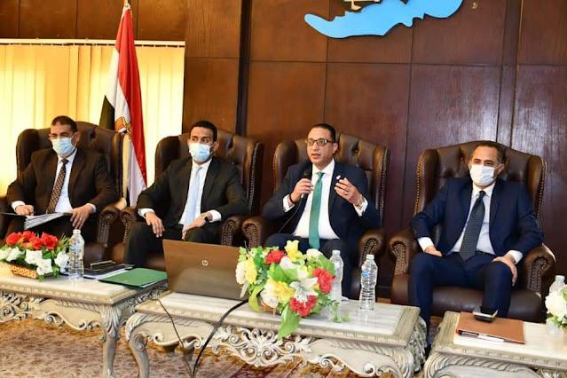 محافظ الفيوم يترأس المجلس التنفيذي و يشدد على تكثيف الحملات على المنشآت التجارية والسياحية للالتزام بالإجراءات الوقائية