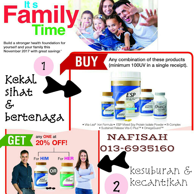 Promo Vitamin seisi keluarga November 2017