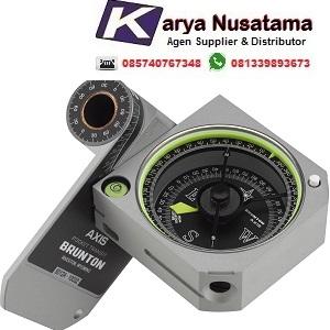 Jual Brunton Axis 0-360 Pocket Transit Kompas Original di Aceh