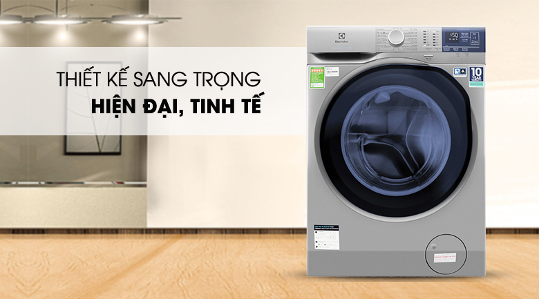 Máy giặt Electrolux Inverter 9 kg EWF9024ADSA Thiết kế sang trọng, tinh tế