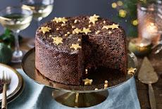 كيكة الكريسماس | كيكة الشوكولاتة بالفواكه