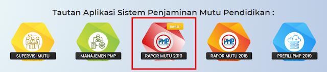 Cara Download rapor mutu PMP Dikdasmen  CARA DOWNLOAD RAPOR MUTU SEKOLAH DARI PMP DIKDASMEN  2019 - 2020