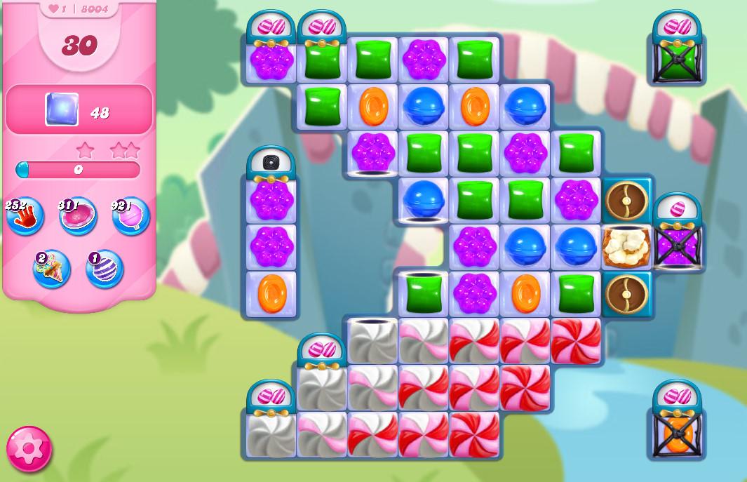 Candy Crush Saga level 8004