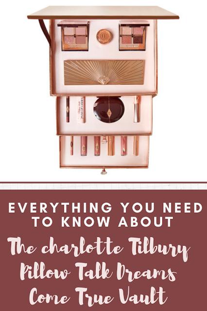 CHARLOTTE TILBURY PILLOW TALK DREAMS COME TRUE VAULT 2020