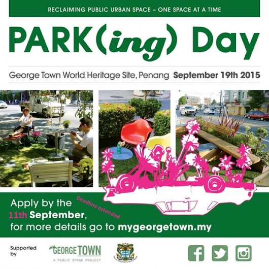 First Park(ing) Day comes to Penang