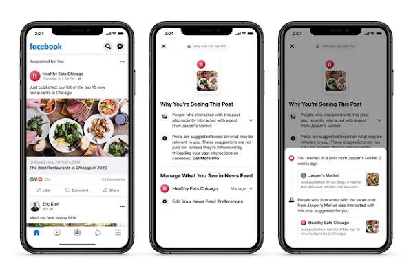 Facebook está a facilitar a desativação da classificação algorítmica