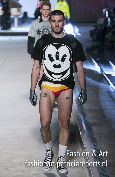 Apostolos Mitropoulos Madwalk 2018 -  Mickey Mouse with 3 eyes