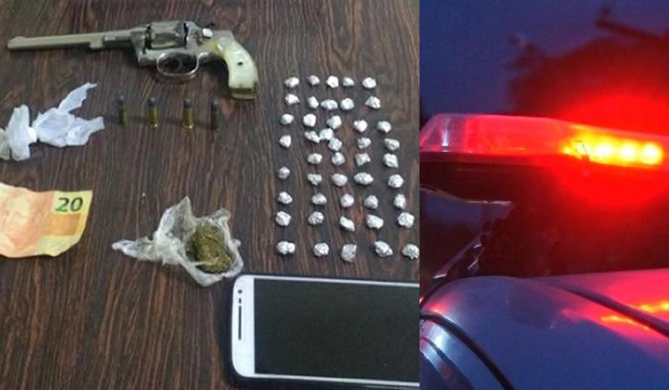 Adolescente apreendido em Pinhal com drogas e arma é solto horas depois