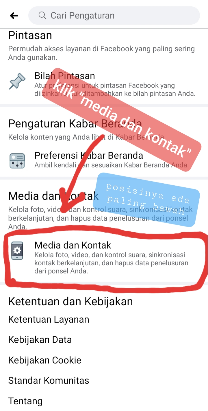 pengaturan video facebook otomatis