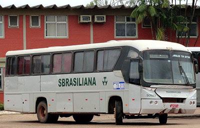 RODOVIÁRIOS FECHAM GARAGEM DA TRANSBRASILIANA EM MARABÁ