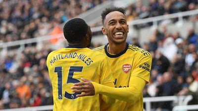 Auba Goal Newcastle 19/29 season