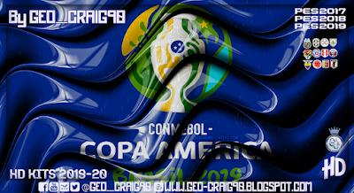PES 2017 Kitpack Copa América 2019 HD [AIO] by Geo_Craig90