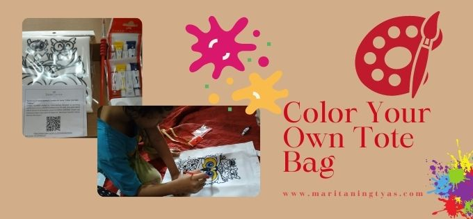 color your own tote bag by Faber Castell