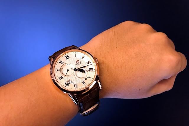 Orient 東方錶 SUN&MOON 系列日月相錶