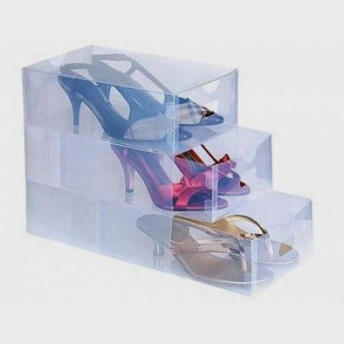 Harga Ribu Kotak Tempat Rak Sepatu Transparan Benji Box