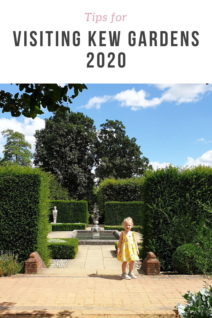 Reviewing Kew Gardens experience 2020 and the Kew Gardens safety measures.