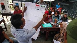 Coblos Sisa Kertas Suara, Tujuh KPPS Terancam Dipecat