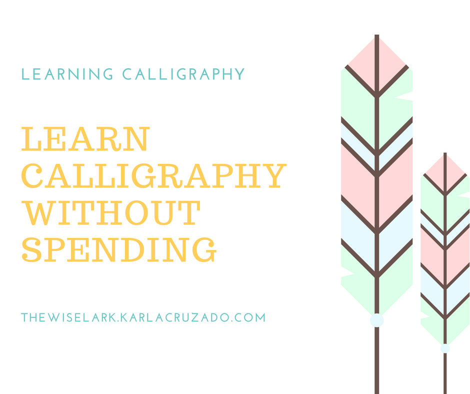 The wise lark 2017 Where to learn calligraphy