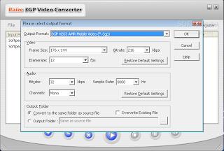 تحميل برنامج محول صيغ الفيديو للموبايل Raize 3GP Video Converter