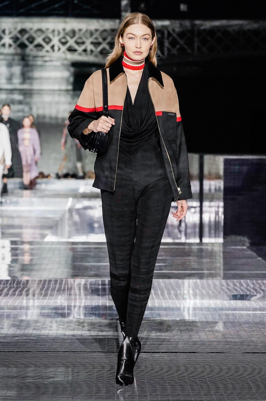 Top Models Walk The Burberry Fall Winter 2020 London Fashion Week Show
