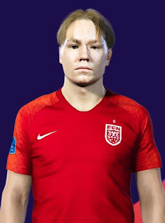 PES 2021 Faces Andreas Schjelderup by Ostemads98