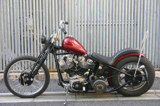 Harley Davidson Shovelhead 1979 By Spice Motorcycles Hell Kustom