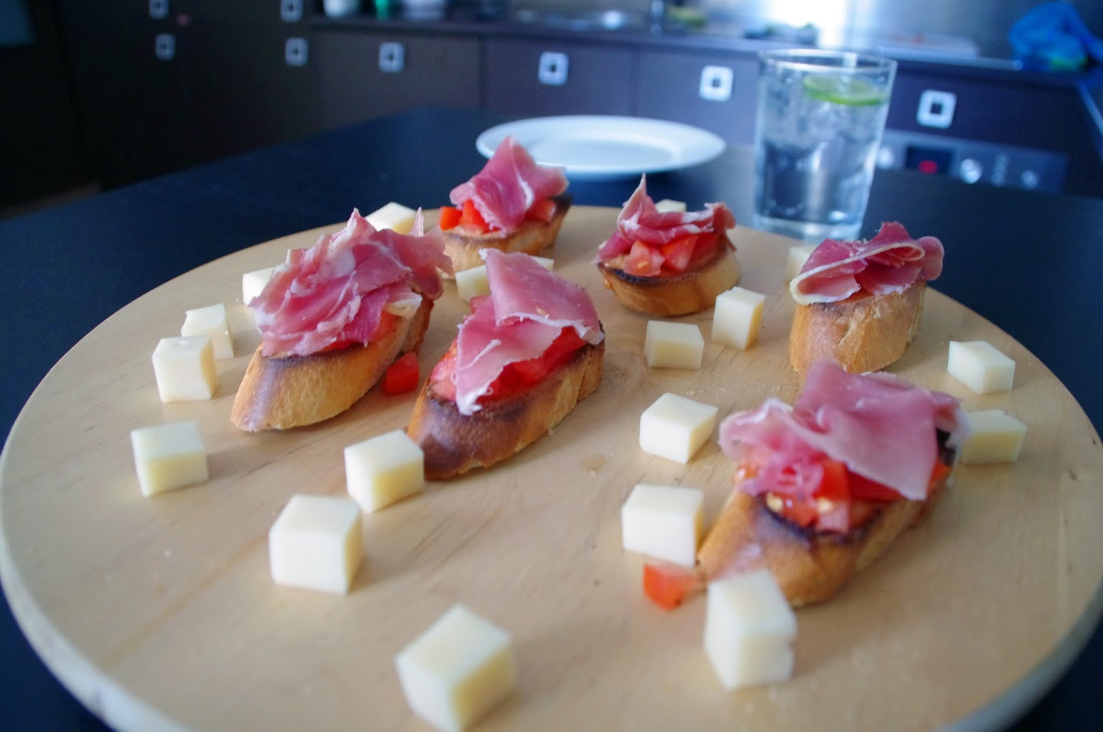 Tapas at Sweet Home Abroad Apartment in Barcelona