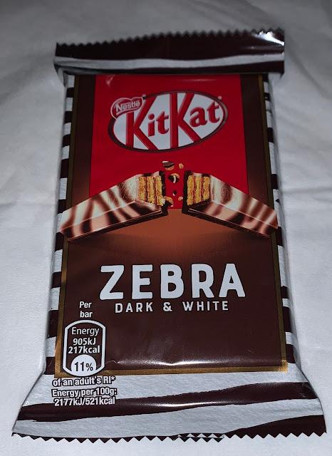 Kit Kat Zebra - Black and White