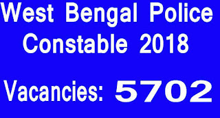 West Bengal Police Constable 2018