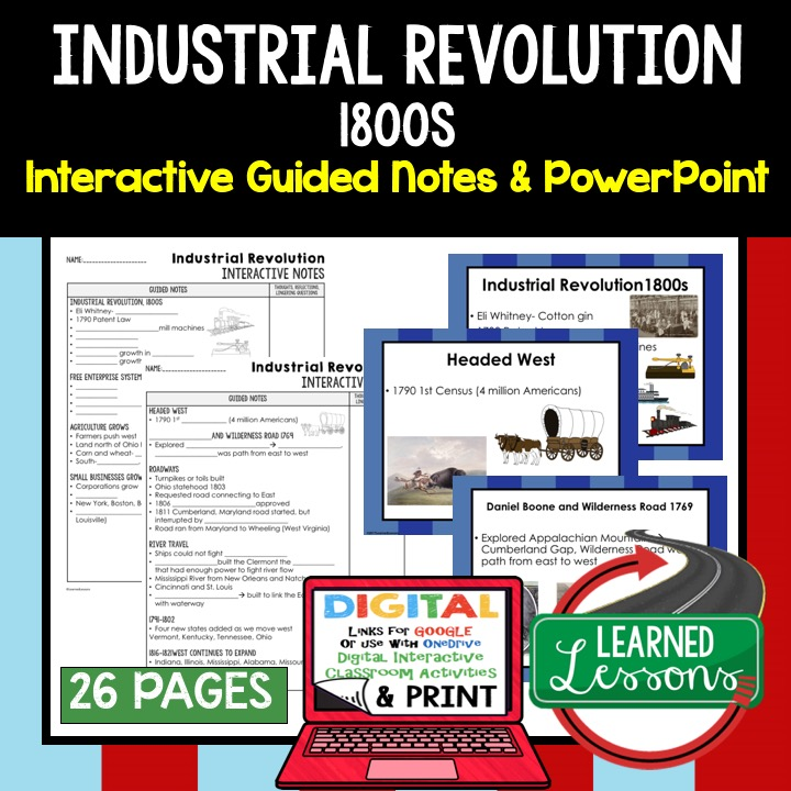 Early American History Guided Notes and PowerPoints