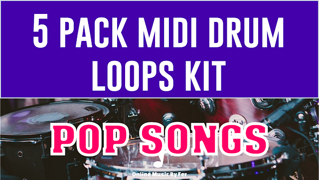 midi drum loops free download pack