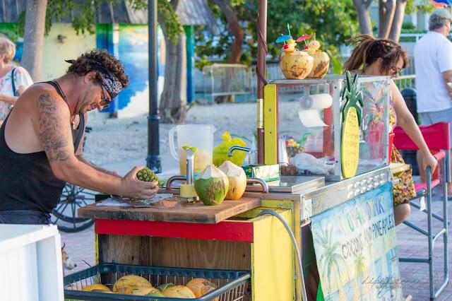 Typisch Key West, Florida - Mallory Square, Cocktails - dipitontour