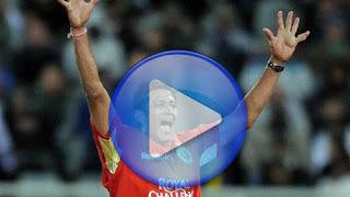 Anil Kumble 5-5 - RCB vs RR 2nd Match IPL 2009 Highlights