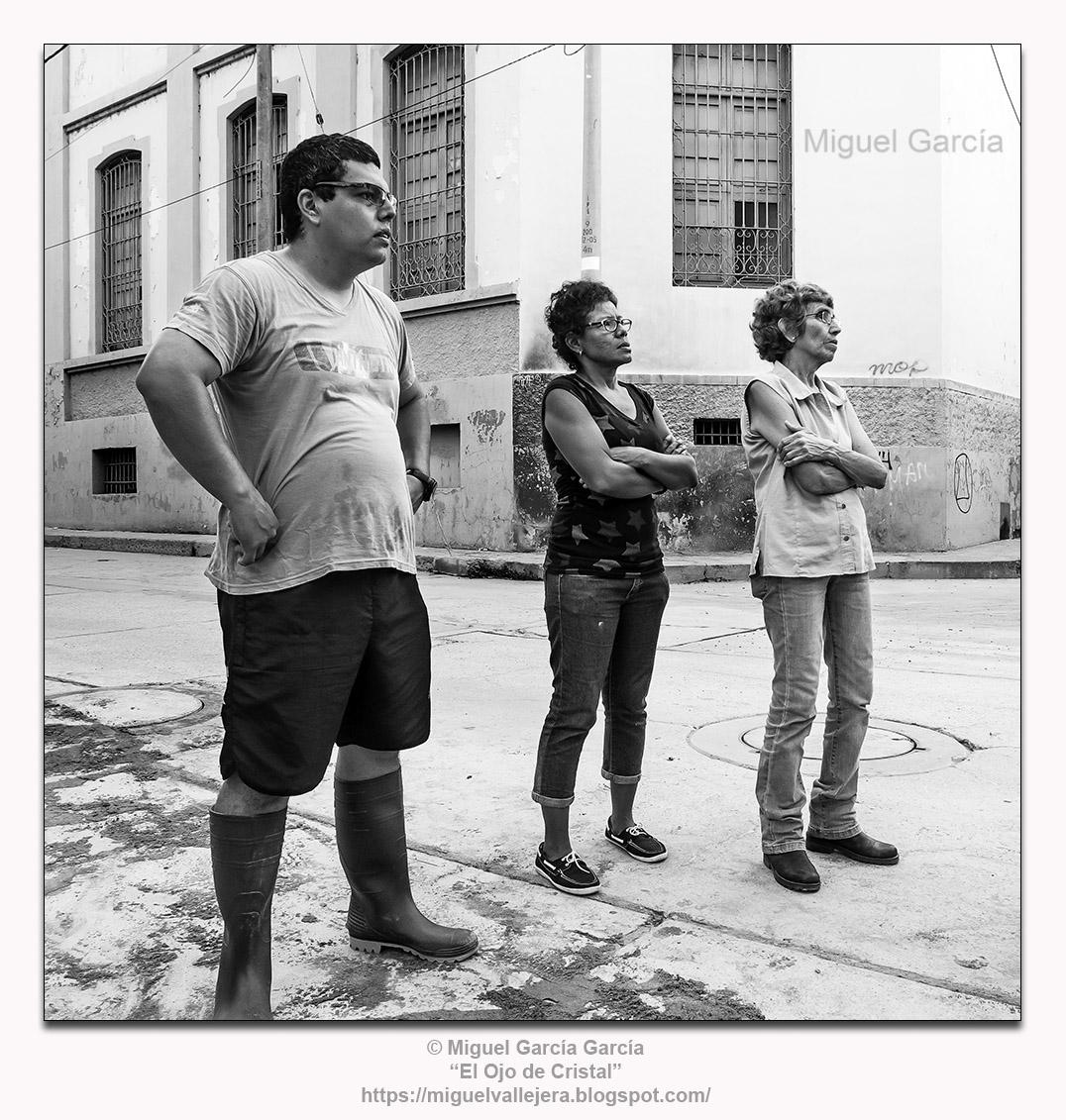 Fenómeno del Niño 2017, Piura (Perú). José Rodolfo, Srta. Flor, Sra. Albán.