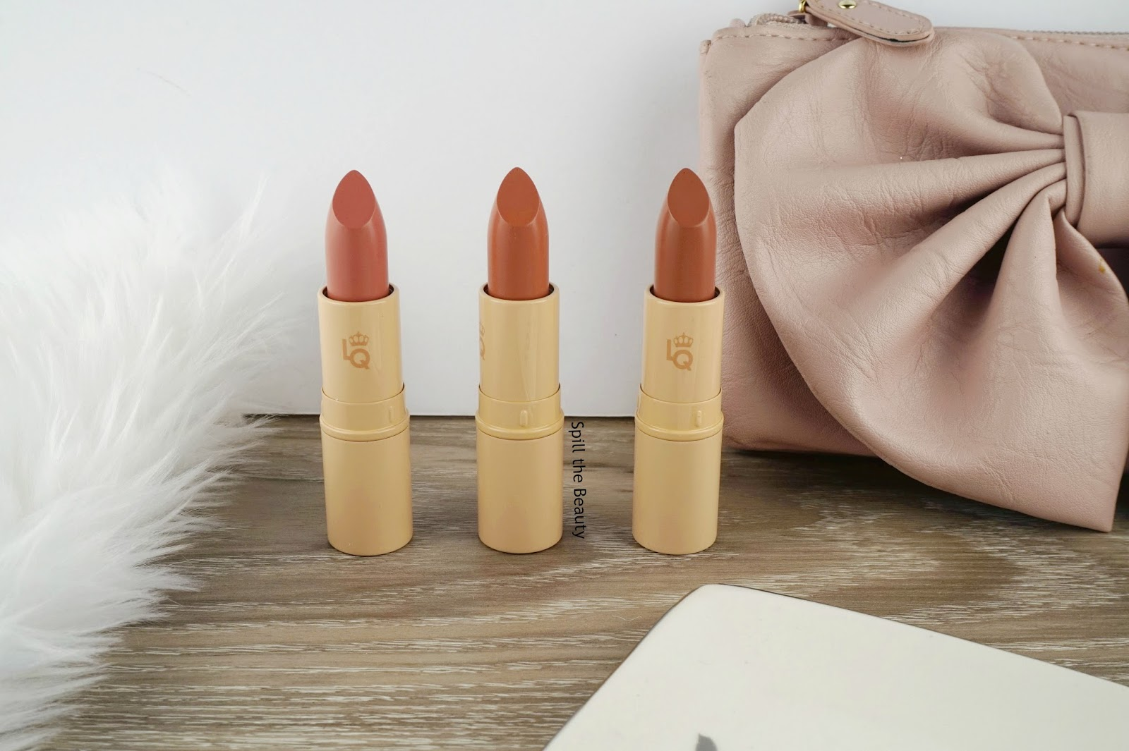 lipstick queen nothing but the nudes the truth the whole truth nothing but the truth review swatches giveaway