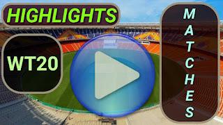 World T20 Highlights Videos