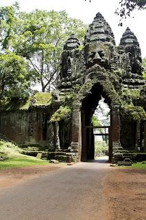 Les temples khmers d'Angkor