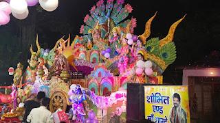 बागपत के प्रसिद्ध मां दुर्गा मन्दिर में हुआ ऐतिहासिक जागरण | #NayaSaberaNetwork