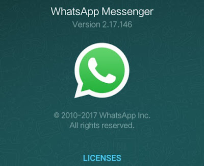 Whats New on WhatsApp 2.17.146