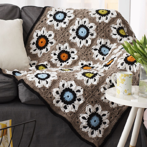 Crochet City Solarium Throw - Tutorial