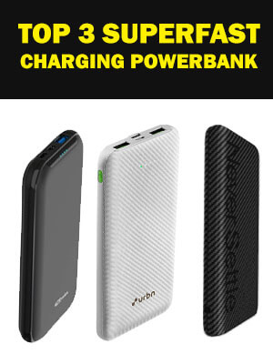 Top 3 Super Fast Charging Power Bank for mobiles under 1,000 rupees